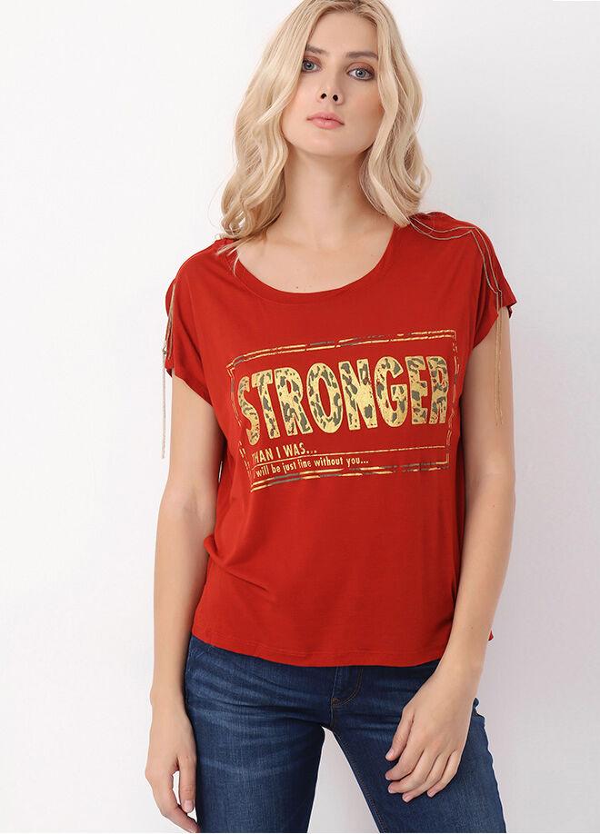Loft Kadın Tshirt Kısa Kol