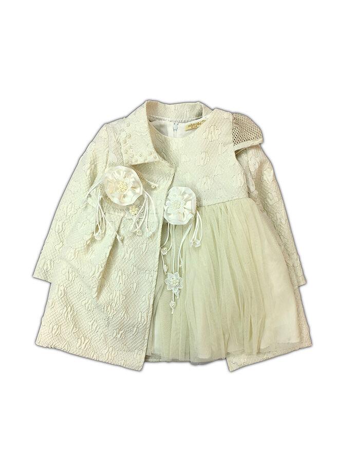 By Leyal for Kids Baharlık Mont Ve Elbise Takım-2158