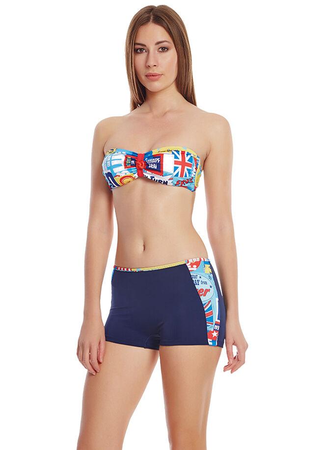 Dagi Straplez Şortlu Bikini