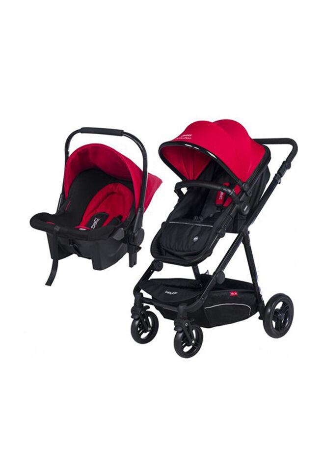 Baby2Go Baby2Go 6034 LaVida Travel Puset - Kırmızı