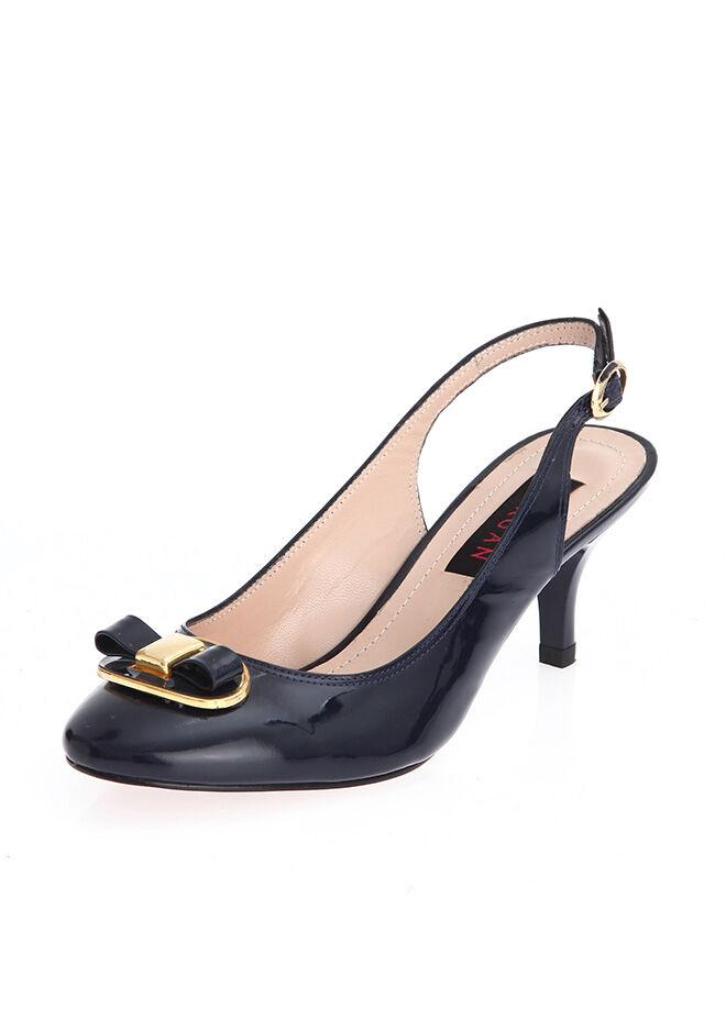 Tergan Klasik Topuklu Ayakkabı
