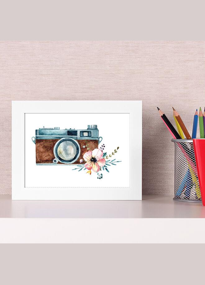 Bc Home 16 x 21 cm Fotoğraf Makinesi Kahve Çerçeveli Tablo - Fm1318.299