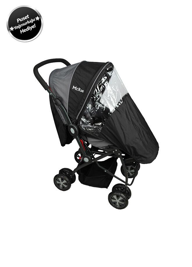 McRae McRae MC 720 Enjoy Dört Mevsim Çift Yönlü Bebek Arabası-Siyah