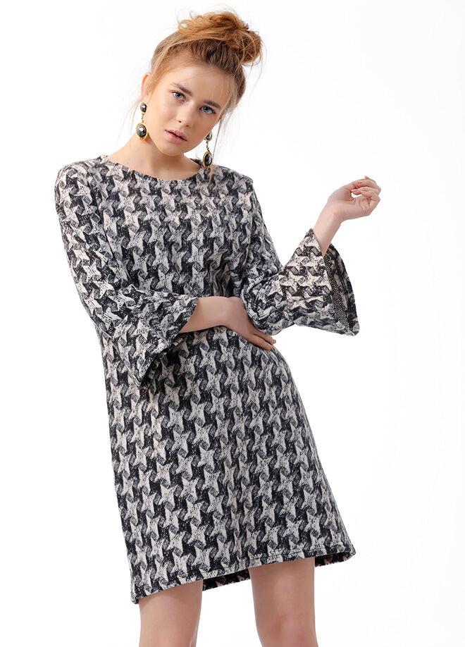 Ola L13 İspanyol Kol  Tunik Elbise