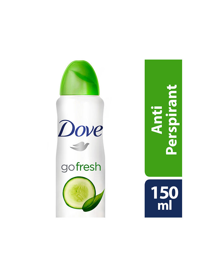 Dove Deodorant Sprey Go Fresh 150 ml.