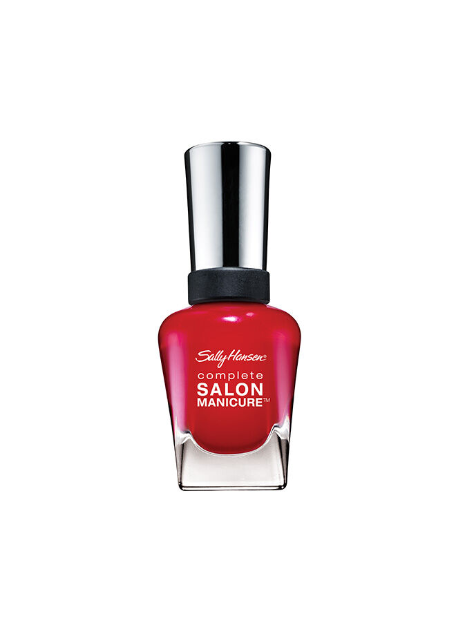 Sally Hansen Complete Salon Manicure - Right Said Red - 5'li Etkili Oje - Bayrak Kırmızısı-570 14,7 ml.