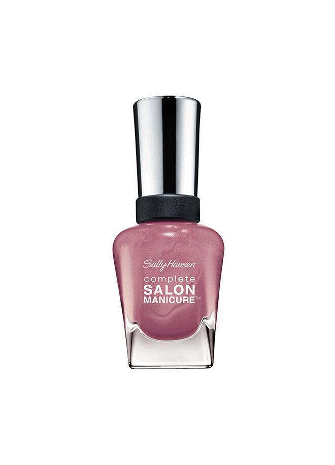 Sally Hansen Complete Salon Manicure - Rosie Posie - 5'li Etkili Oje - Işıltılı Gül Kurusu 14,7 ml.