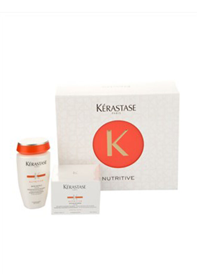 Kérastase Nutritive Set (Saten2 Şampuan 250 ml+Masquitense Thick Maske 200 ml)
