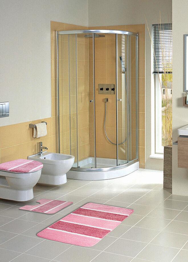 Walls Home Simli Soft 2 Parça Banyo Takımı - Soften