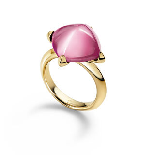 MÉDICIS RING, Light pink mirror