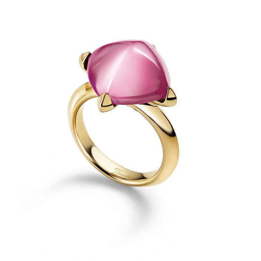 MÉDICIS RING, Light pink mirror