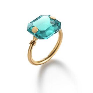 BACCARAT PAR MARIE-HÉLÈNE DE TAILLAC RING, Turquoise