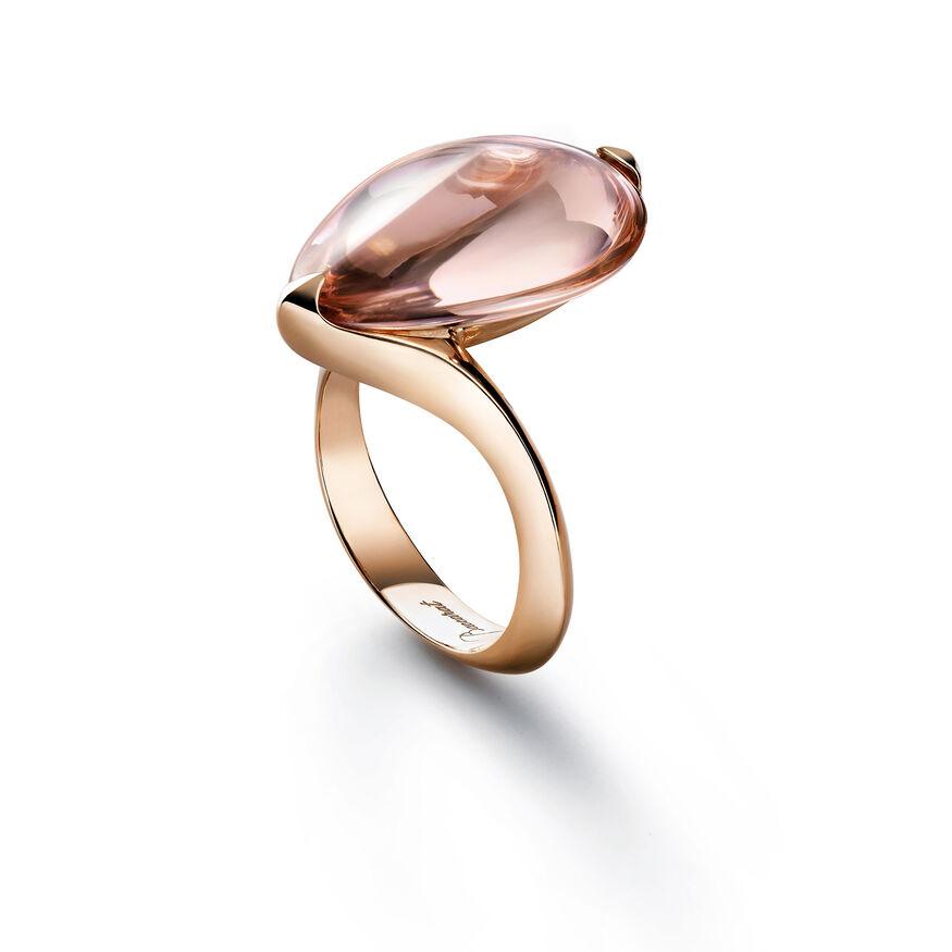 FLEURS DE PSYDÉLIC RING, Light pink mirror