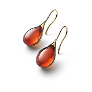 GALÉA EARRINGS, Mahogany