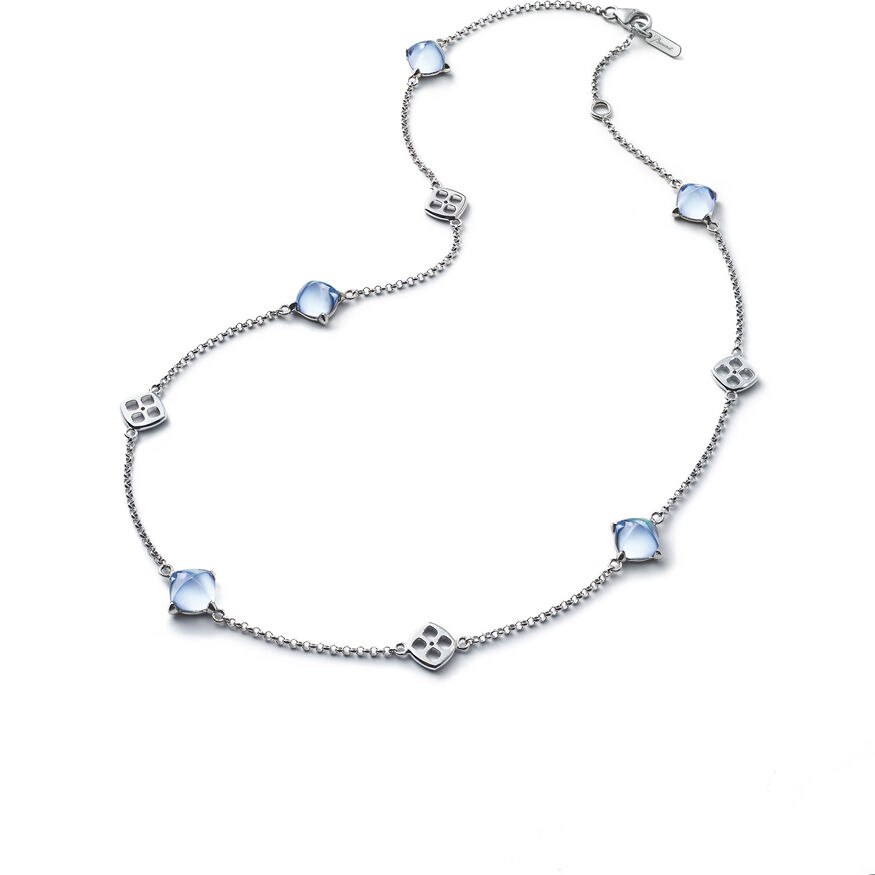 MINI MÉDICIS NECKLACE, Clear