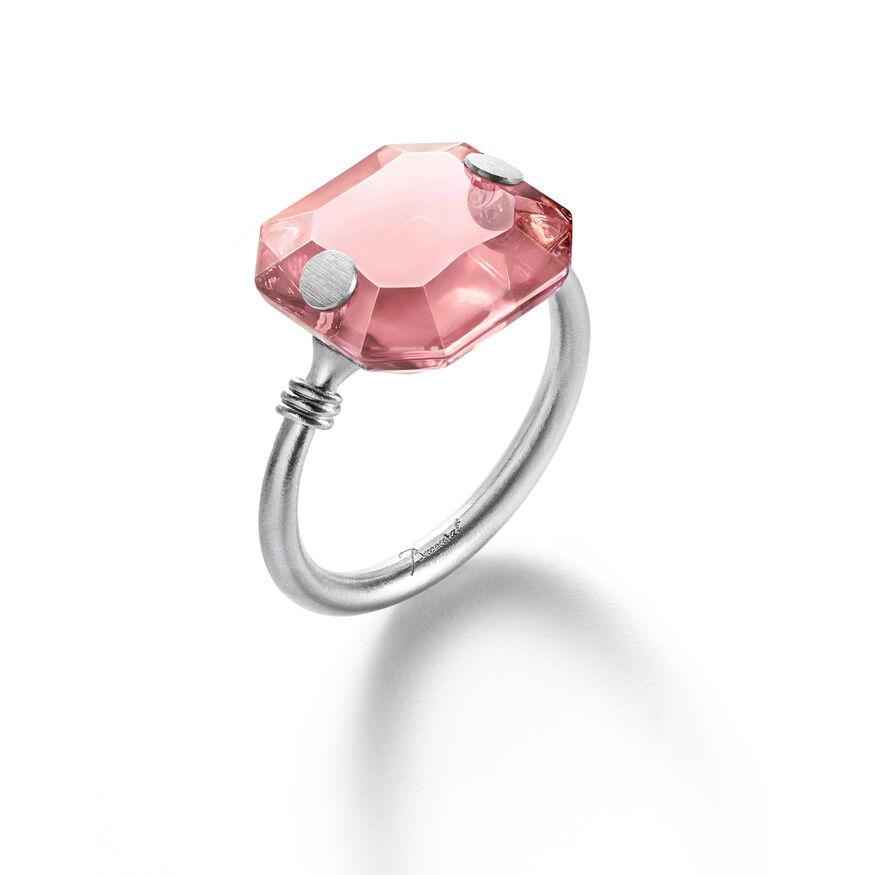 BACCARAT PAR MARIE-HÉLÈNE DE TAILLAC RING, Pink