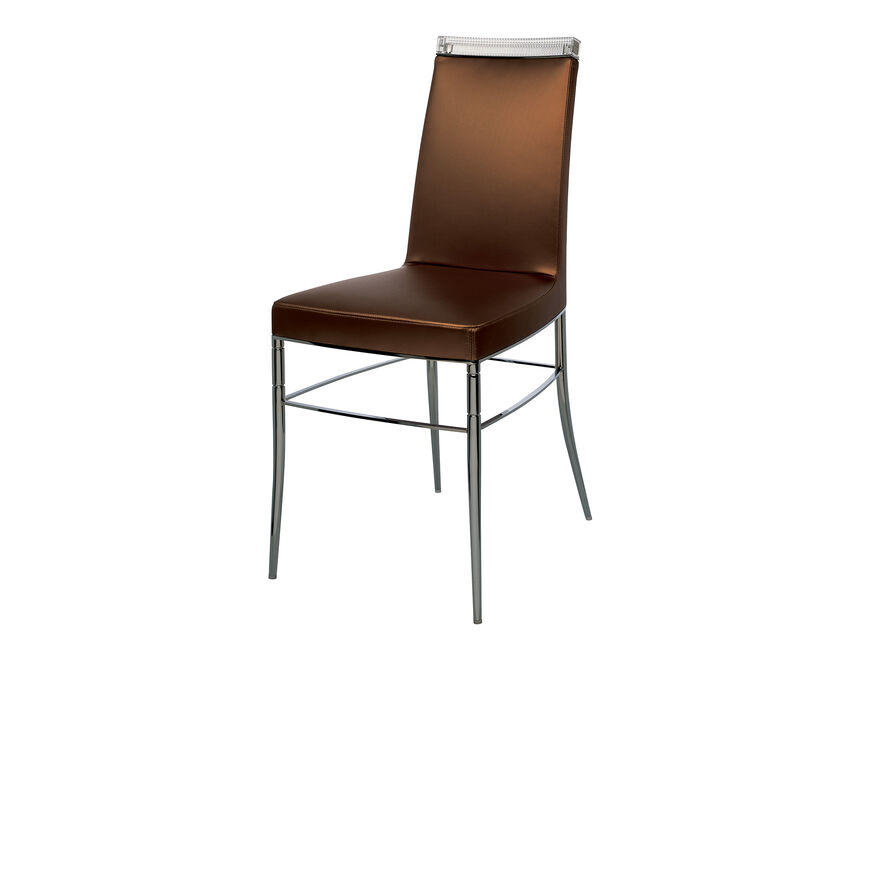 GLASS CLASS CHAIR, Copper