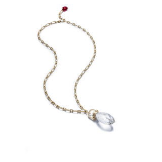 BOUCHON DE CARAFE NECKLACE, Clear