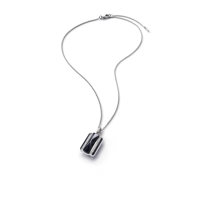 LOUXOR NECKLACE, Black mordore