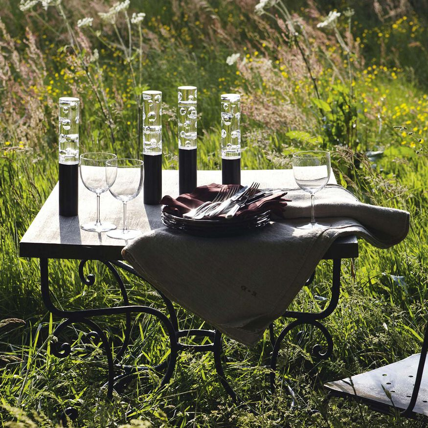 JARDIN DE CRISTAL JALLUM VOTIVES, Black
