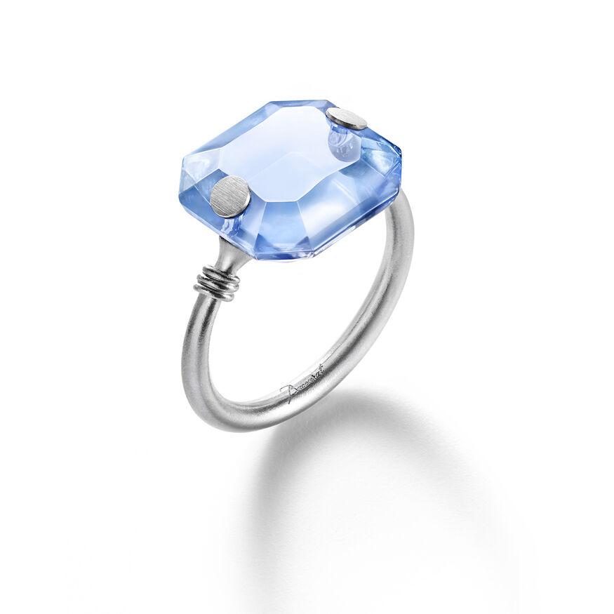 BACCARAT PAR MARIE-HÉLÈNE DE TAILLAC RING, Blue