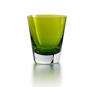 色彩 平底杯, 青色