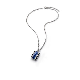 LOUXOR NECKLACE, Blue mordore