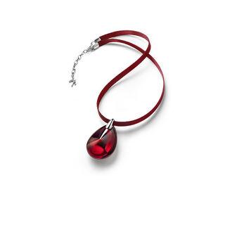 PSYDÉLIC PENDANT, Iridescent red