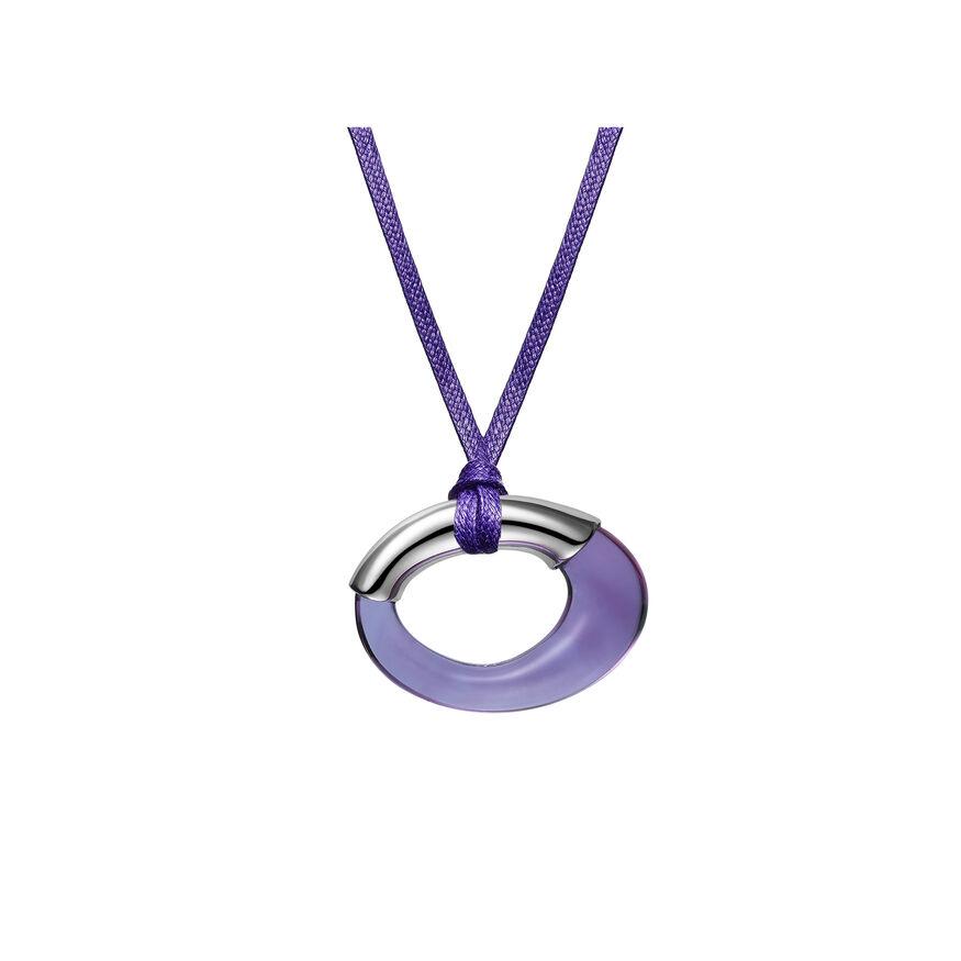 GALÉA RING PENDANT, Purple