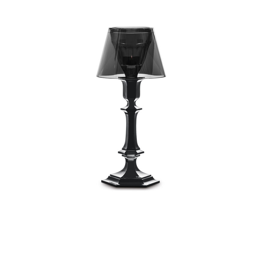 HARCOURT OUR FIRE CANDLESTICK, Black