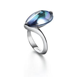 FLEURS DE PSYDÉLIC 戒指, 透明藍鏡面