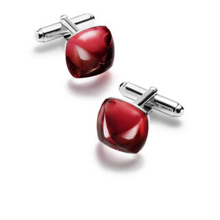 MÉDICIS CUFF LINKS, Red mirror