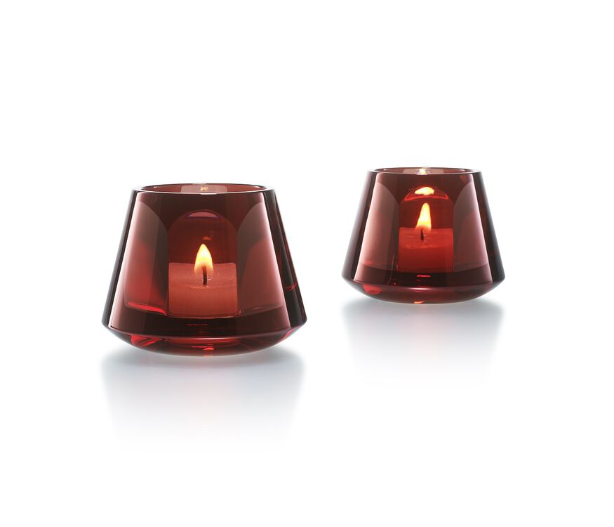 HARCOURT BABY OUR FIRE VOTIVE, Red