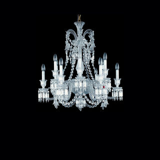 ZÉNITH CHANDELIER 8 TO 24 LIGHTS, Clear