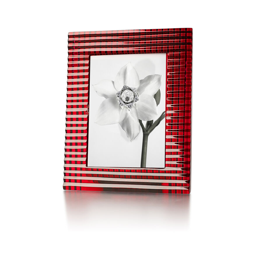 EYE PHOTO FRAME, Red