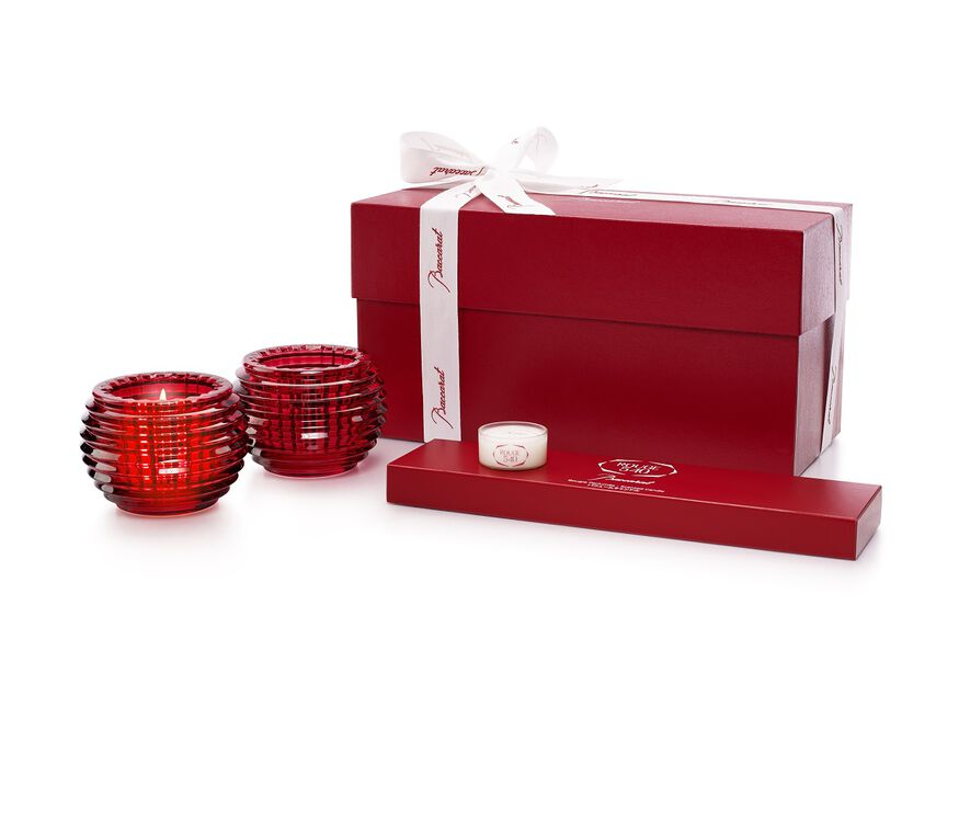 ROUGE 540 CANDLESTICK SET,