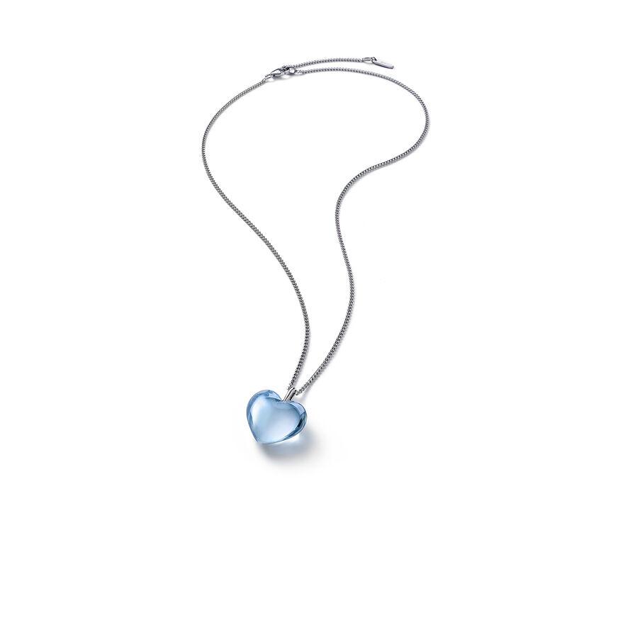 浪漫 颈链, 浅蓝镜面