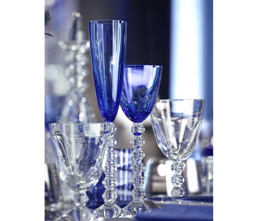 VÉGA 長笛形香檳杯, 藍色