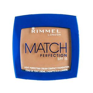 Rimmel London Match Perfection Cream Compact Foundation 7g, , large
