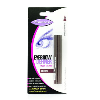 Colorsport Eyebrow Definer Pen Brown, , large