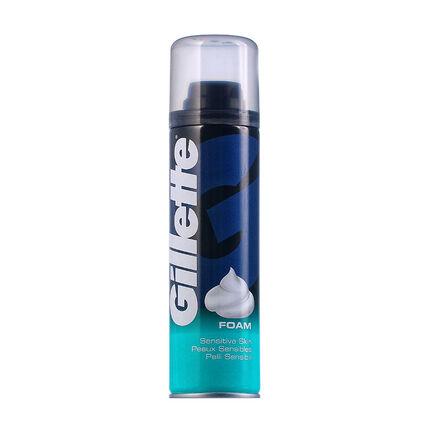 Gillette Sensitive Shave Foam 200ml, , large