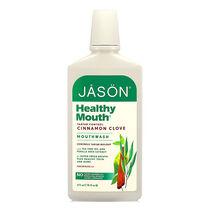 Jason Healthy Mouth Mouthwash Tea Tree & Cinnamon 473ml, , large