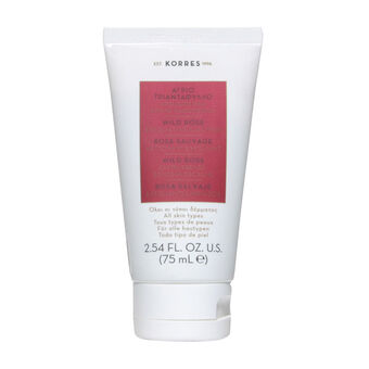 Korres Wild Rose Exfoliating Cleanser 75ml, , large