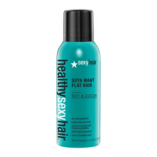 Sexy Hair Healthy Soya Want Flat Hair Hot Iron Spray 150ml, , large