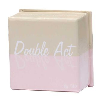 W7 Double Act Face Powder Bronzer/Blusher 8g, , large
