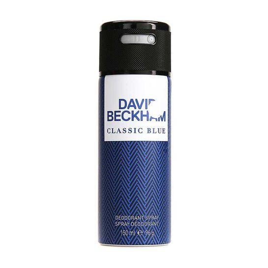 Beckham Classic Blue Deodorant Spray 150ml, , large