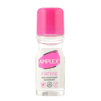 Amplex Antiperspirant Roll On 60ml Caring, , large