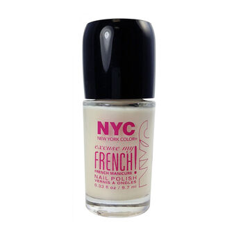 NYC Excuse My French Nail Polish 9.7ml, , large