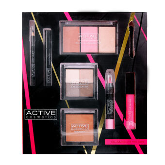 Active Cosmetics Glamour to Go Gift Set, , large