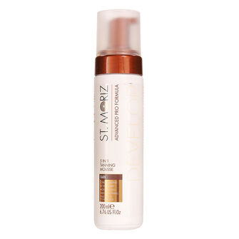 St Moriz Advanced Pro Formula 5in1 Tanning Mousse Dark 200ml, , large
